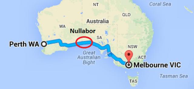 Perth to Melbourne