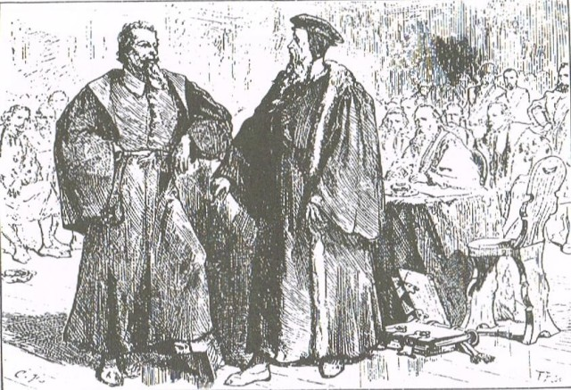 Servetus and Calvin