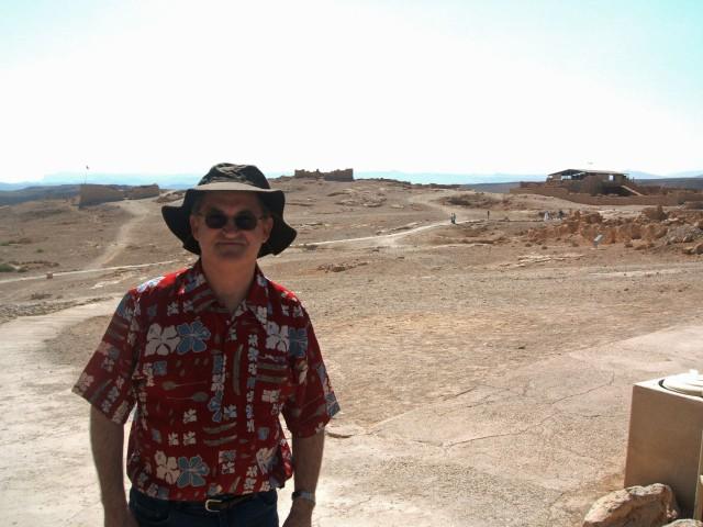 Me at Masada