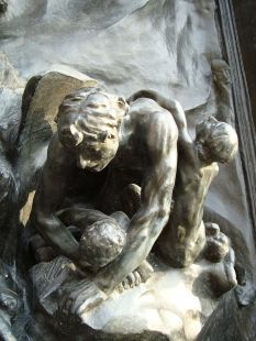 Rodin's The Gates of Hell. Credit: Wikipedia
