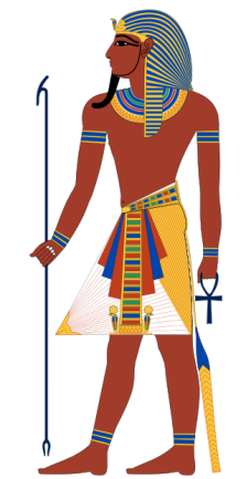 Pharaoh of Egypt Credit: Wikipedia