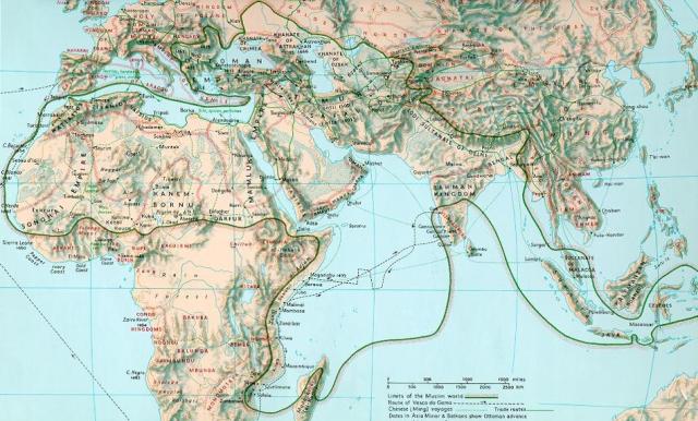 Map 1500 AD 2