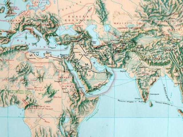 Map 600AD 2